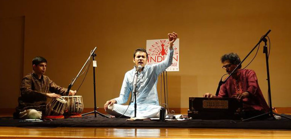 Balachandra Prabhu and Pt. Omkar Gulvady to Perform at Konkani Sammelan '16
